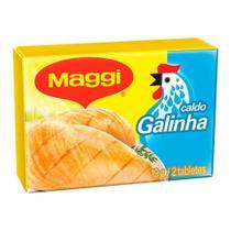 Caldo de Galinha 19g 24 Unidades - Maggi -