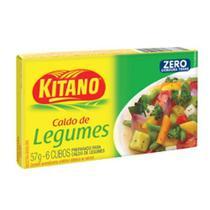 Caldo de Legumes 57g 6 Cubos 1 UN Kitano -