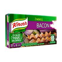 Caldo Knorr Bacon 10 Caixetas 6 Cubos 57g -
