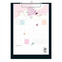 Calendario Planner Prancheta Capricho Tilibra -
