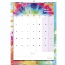 Calendario Planner Prancheta Tilibra Good Vibes 2021 -