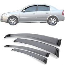 Calha de Chuva Esportiva Chevrolet Astra 2000 Até 2013 4 Portas - Ecoflex