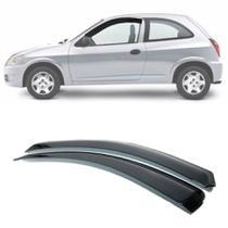 Calha de Chuva Esportiva Chevrolet Celta 2000 Até 2017 2 Portas Fumê - Ecoflex