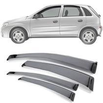 Calha de Chuva  Esportiva Chevrolet Corsa Hatch 2003 Até 2012 - Ecoflex