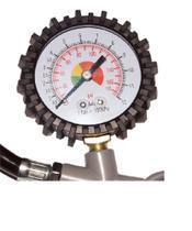 Calibrador Manual De Pneus Com Manômetro Analógico - Dm Ferramentas