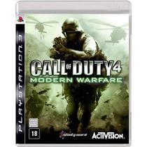 Call of Duty 4: Modern Warfare - PS3 - Activision