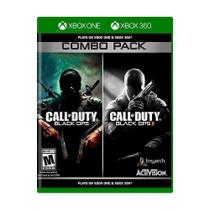 Call Of Duty Black Ops 1 e 2 - Combo Pack - Xbox 360 / Xbox One - Activision