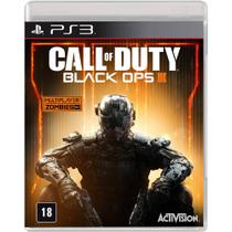 Call Of Duty: Black Ops 3 Multiplayer Online e Modo Zumbi - PS3 - Activision