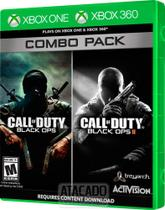 Call Of Duty black Ops I e II - Xbox One e 360 - Combo Pack - Activision -