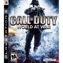 Call of Duty: (COD) World At War - Ps3 - Sony