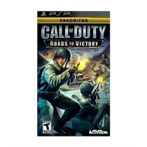 Call of duty: roads to victory favorites - psp - Sony
