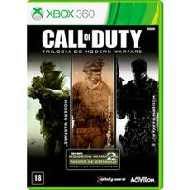 Call Of Duty: Trilogia do Modern Warefare - XBOX 360 - Microsoft