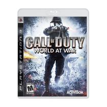Call of Duty: World at War - PS3 - Jogo