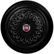 Calota aro 13 preta fiat g600pob - Fiat v