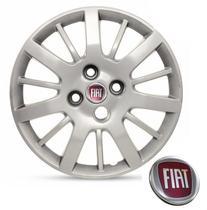 Calota Aro 14 Fiat Palio Siena Uno cor prata - Gfm