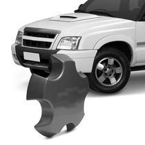 Calota Centro de Roda Chevrolet S10 Blazer Executive 09 a 11 Grafite Emblema Fixação Por Encaixe - Emblemax