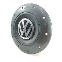 Calota Centro Roda Ferro VW Amarok Aro 14 15 4 Furos Grafite -