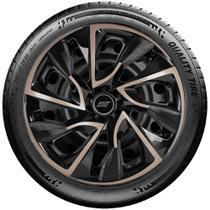 Calota Esportiva Aro 13 Elitte Universal Black Gold E3019 - Elitte calotas