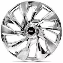 Calota Esportiva DS4 Chrome Aro 13 Universal Encaixe Cromada - Elitte