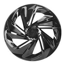 Calota Esportiva Modelo Nitro Aro 13 Black Elitte -
