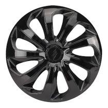 Calota Esportiva Modelo Velox Aro 14 Black Elitte -