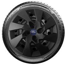 Calota  Fiesta Ford Ka Focus Aro 14 Preto G133p -