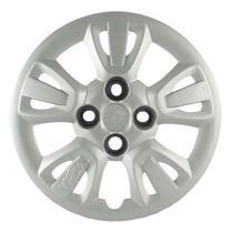 Calota Grid Aro 14 Prata Fiat Uno Way 2011 a 2012 Unidade -