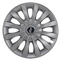 "Calota Universal modelo Passat Cc Aro 13"" Silver Parafuso Elitte -"