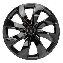 "Calota Universal modelo Prime Aro 13"" Black Parafuso - Elitte"