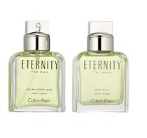 Calvin Klein Kit Eternity For Men Eau de Toilette Perfume Masculino 100ml + Pos Barba 100ml