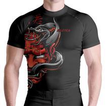 Cam Rash Guard Red Samurai Proteção S ATL - Atlética Esportes