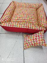 Cama acolchoada com travesseiro travesseiro - Tochik