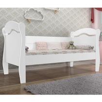 Cama Babá Nicioli - Branco - Sem cama auxiliar -