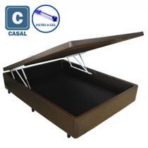 Cama Box Baú Casal com Pistão a gás - 138x188 - Acolchoes