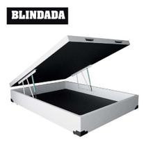 Cama Box Bau Casal Premium ( Blindada ) Super Reforçada - Solares Moveis