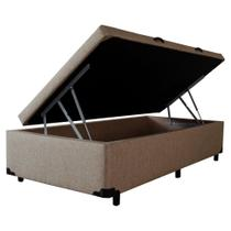 Cama Box Baú Solteiro - Alpha Linnus -  0,88 x 1 ,88 x 0,44 - V-joy -
