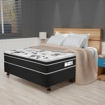 Cama Box Casal Born Black CP4 - Prodormir
