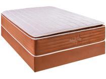 Cama Box Casal (Box + Colchão) Kappesberg - Mola Ensacada 69cm de Altura Natural Sleep