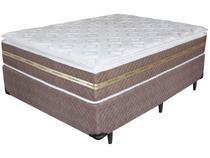 Cama Box Casal Box + Colchão Umaflex Molas - Ensacadas 33cm de Altura Invictus 138