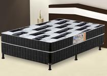 Cama Box Casal Conjugado Umaflex Top 1,38 - Urion Estofados