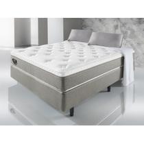 Cama Box Casal Energy Prime 138x188x53 - Cinza - Ecoflex