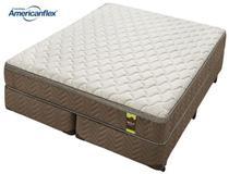 Cama Box + Colchão Americanflex Abrace Ensacado - Casal 138x188x69cm -