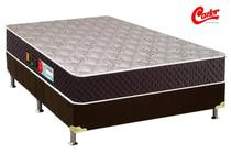 Cama Box + Colchão Castor Casal Sleep Max D45 138x188x58cm -