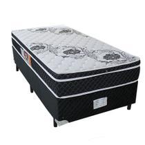 Cama box + Colchão Sempre Firme Solteiro D65 Pillow - Espuma - 078X188 - Copel Colchões