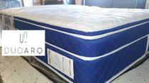 Cama Box Completa + 2 Travesseiros - Duoarq