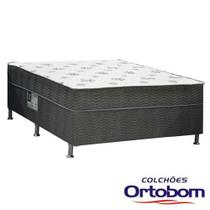 Cama Box Conjugada Casal Dream Spring de Molas Bonnel - Ortobom - Spring Dream