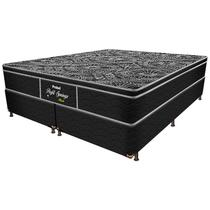 Cama Box Conjugada Queen Springs Black - Probel