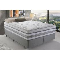 Cama Box King Herval Detroit, Molas Maxspring, 193 cm