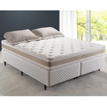 Cama Box King Herval taQi Class, Molas Conforclass, 193 cm