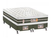 Cama Box King Size (Box + Colchão) Castor Mola  - 61cm de Altura Silver Star